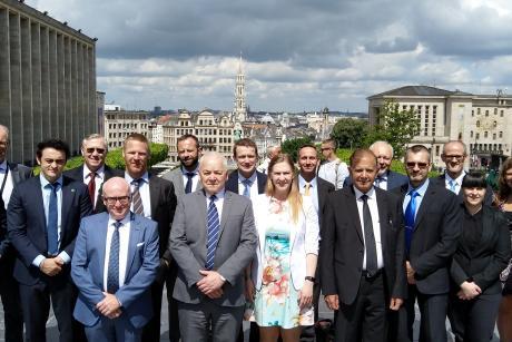 IPPAS-team in Brussels - Belgium